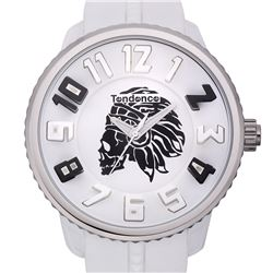 Tendence Sporty Unique Skull Design Men's Watch