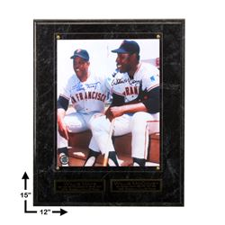 Mays & McCovey S.F Giants Signed GFA