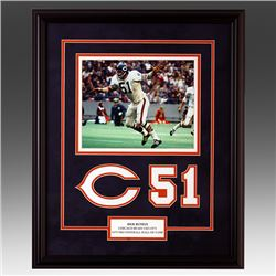 Dick Butkis Chicago Bears Custom Frame un-signed