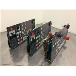 (3) Mori Seiki SH-630 E54017 Operator Control Panel