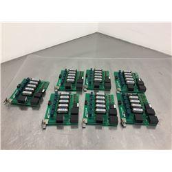 Lot of 7 Mori Seiki E76039A01 Circuit Boards