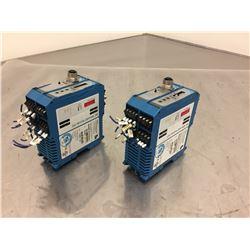(2) Schubert BK Mikro BKM92 I/O Premium Control Unit