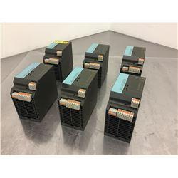 (6) Siemens 1P3RX9 502-0BA00 AS-Interface Power Supply