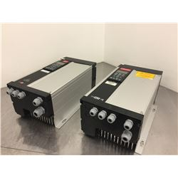(2) Danfoss VLT5000 Variable Frequency Drive