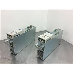 (2) Indramat HDS03.2-W075N-HT25-01-FW Servo Amplifier