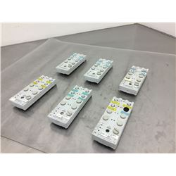 (6) Siemens 3RK1200-0CQ00-0AA3 Interface Compact Module