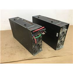 (2) G& L ELECTRONICS CENTURION DS200 SERVO SYSTEM DRIVE MODULE