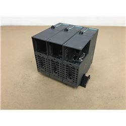 (3) Siemens 6ES7 317-2FK14 PLC CPU