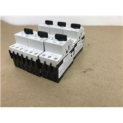(6) Siemens 3RV1021-4AA10 Circuit Breaker