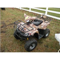 2007 Loncin 100cc youth ATV -needs battery SN#-L5XYUMK0871001934