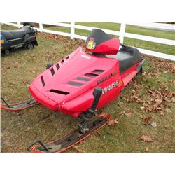 1991 Yamaha Exciter II 570 SN#-88R001752   old gas, needs carb cleaning