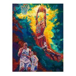 Michael Jordan Dunks by Dmitriy, Turchinskiy