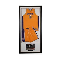 Kobe Bryant #8 - Game Used Uniform