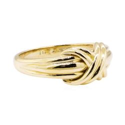 Tiffany and Company Love Knot Ring - 18KT Yellow Gold