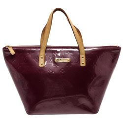 Louis Vuitton Purple Vernis Leather Bellevue PM Bag