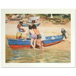 Clam Fisherman by Nelson, William