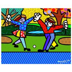 New Golfer by Britto, Romero