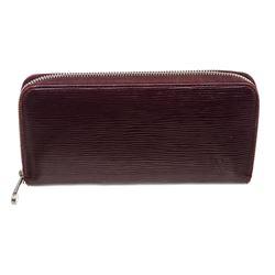 Louis Vuitton Purple Epi Leather Zippy Wallet