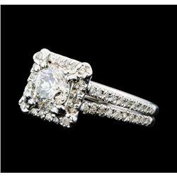 1.41 ctw Diamond Ring - 14KT White Gold