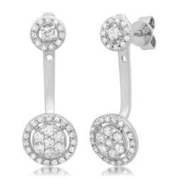 14k Gold 0.54CTW Diamond Bracelets, (SI3/H-I)