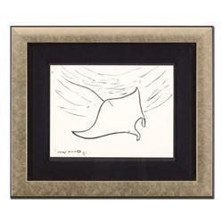 Manta Ray by Wyland Original