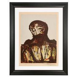 Christ by David Alfaro Siqueiros