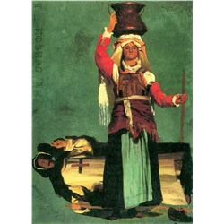 Italian Costume Studies by Albert Bierstadt