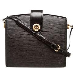 Louis Vuitton Black Epi Leather Capucine Shoulder Bag