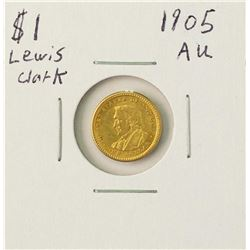 1905 $1 Lewis and Clark Exposition Gold Coin