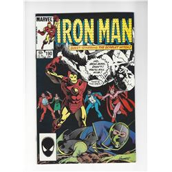 Iron Man Issue #190 by Marvel Comics