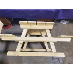 "CHILDS PICNIC TABLE (41.5X32X19.25"")"