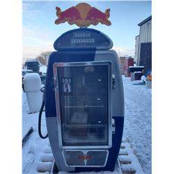 'RED BULL' GAS PUMP COOLER (AS IS)