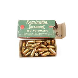 REMINGTON 380 AUTOMATIC AMMO