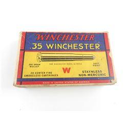 WINCHESTER .35 WIN AMMO
