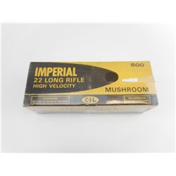 "IMPERIAL 22 LR HIGH VELOCITY ""MUSHROOM"" GOLD BOXES VINTAGE"