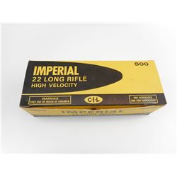IMPERIAL 22 LR HIGH VELOCITY GOLD BOXES VINTAGE