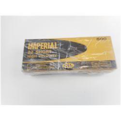 IMPERIAL 22 SHORT HIGH VELOCITY GOLD BOX  MUSHROOM  AMMO