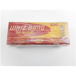 CIL WHIZ BANG 22 SHORT HIGH VELOCITY MUSHROOM AMMO