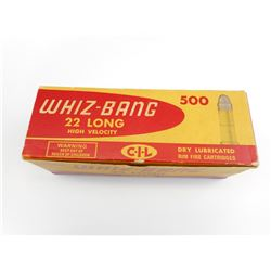 WHIZ BANG 22 LONG HIGH VELOCITY AMMO