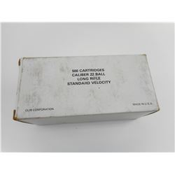 22 LONG RIFLE STANDARD VELOCITY AMMO, MADE BY OLIN (WINCHESTER),