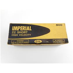 IMPERIAL 22 SHORT AMMO