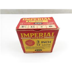 "IMPERIAL 12 GAUGE 3"" SHOTSHELLS"