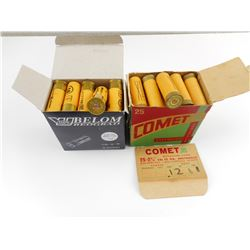 12 GAUGE BELOM/BEOGARD, COMET XL SHOTSHELLS