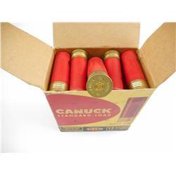 "CANUCK 12 GAUGE 2 3/4"" #5 SHOT COLLECTIBLE SHOTSHELL"