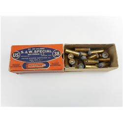 USC 38 SPECIAL AMMO