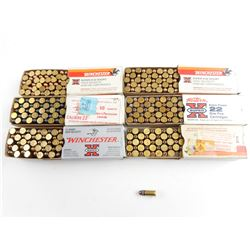 22 RIMFIRE SHORT AMMO, ASSORTED COLLECTIBLE AMMO