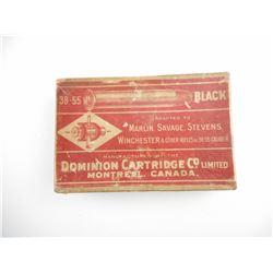 DOMINION .38-55 BLACK POWDER AMMO