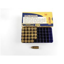 DOMINION 9MM LUGER POLICE AMMO