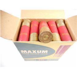 MAXUM 12 GAUGE 2 3/4  LONG RANGE LOAD SHOTSHELLS