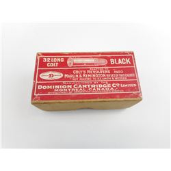 DOMINION 32 LONG COLT BLACK POWDER AMMO